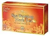 ESTHE PRO Spa Burning Herb Tea | 63 kinds of Herbs and Spices good for Metabolization Acceleration and Losing Weight | Professional Use | 10 Tea Bags (Japan Import)