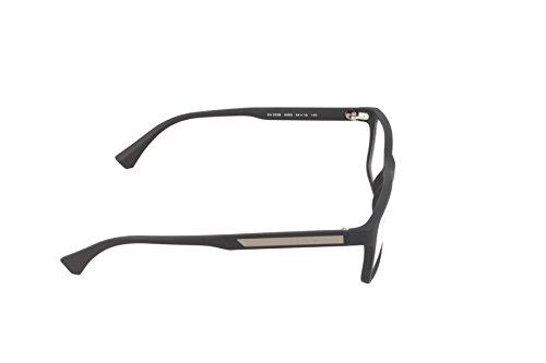 ... Emporio Armani Montures de lunettes 3038 Pour Homme Black Rubber, 54mm  5063  Black Rubber bbb55232c86d