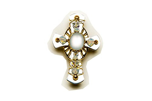 Liztech Cross of Hope Pin Brooch Religious Cross Jewelry