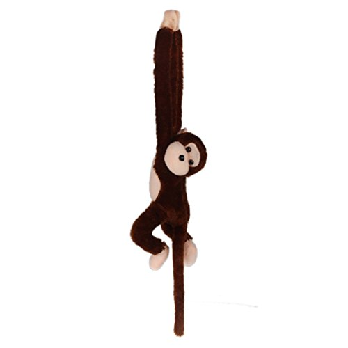 Lookatool Cute Screech Monkey Plush Toy Doll Doll Gibbons Kids Gift -