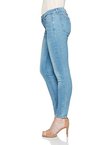 Tailor Blue Denim Stone Tom Middle Wash Random light Denim Jeans Jona Donna Blu TwdqXAq