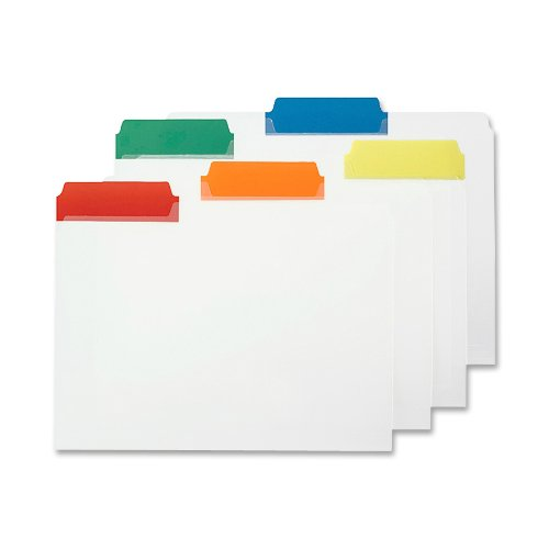 (Smead Poly File Folder, Colored 1/3-Cut Tab, Letter Size, Assorted Colors, 25 per Box (10530))