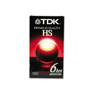 TDK T120HS-5PK - 5-Pack of High Standard VHS Video Tapes by TDK