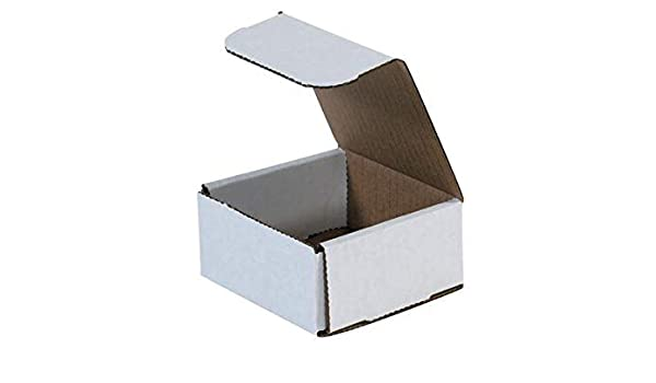 250-4x4x3 White Corrugated Shipping Mailer Packing Box Boxes