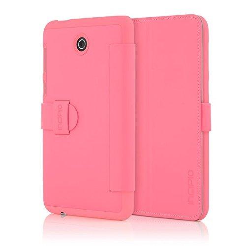 Incipio Lexington Sophisticated Kickstand Folio for ASUS MEMO Pad 7 LTE - Retail Packaging - Pink
