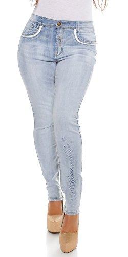 KouCla -Vaqueros Mujer Weiß