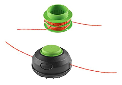 Fivе Расk EGO Power AH1300 15-Inch String Trimmer Head with Pre-Wound Spool for EGO 15-Inch String Trimmer ST1501-S//ST1500-S