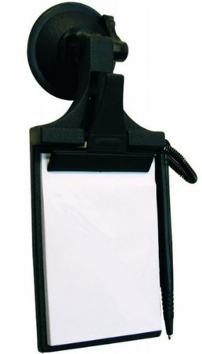 HP 19110 Suction Cup Notepad Holder - 22 x 9,5 x 4.5 cm / 8,65in x 3,75in x 1,77in