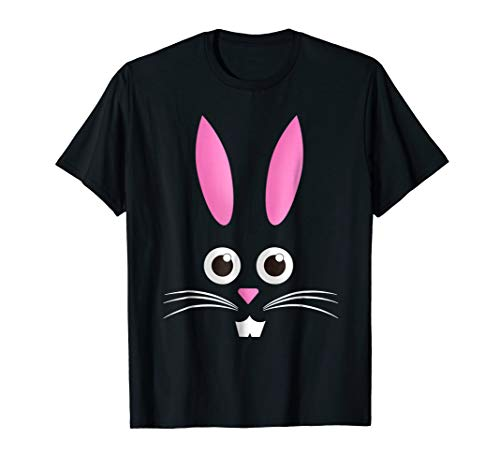 Easter Bunny Face Whiskers Funny Humorous Cute T-Shirt]()