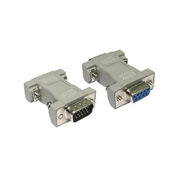 Vga Cable Pin 9: Aptii VGA 15 Pin Male to VGA 9 Pin Female Adaptor: Amazon.co.uk rh:amazon.co.uk,Design