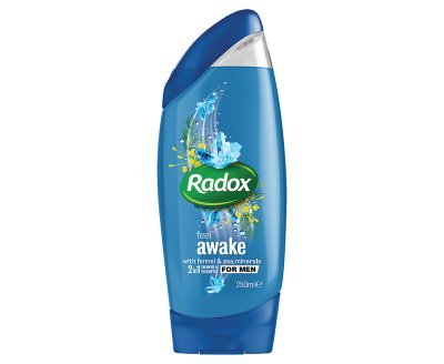 - Radox Feel Awake for Men 2 in 1 Shower & Shampoo (250ml x 6)