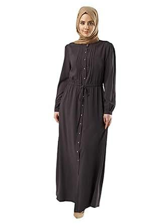 Anaya Abaya For Women - Black