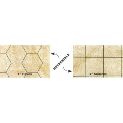 Chessex Mondomat Double-Sided Reversible Role Playing Play Mat, 54 x 102 Inches by Chessex