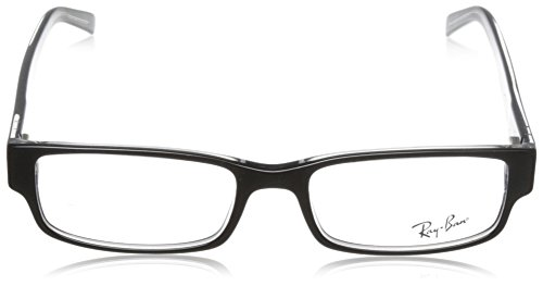 Ray Ban Eyeglasses RX5069 2034 Black on Transparent/Demo Lens, 53mm by Ray-Ban (Image #2)