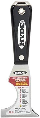 Hyde Tools 2980 6-In-1 Painters Tool, 2 pack