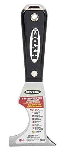 Hyde Tools 2980 6-In-1 Painters Tool, 2 pack by Hyde