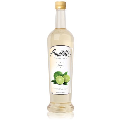 Amoretti Premium Syrup, Lime, 25.4 Ounce - Lime Syrup