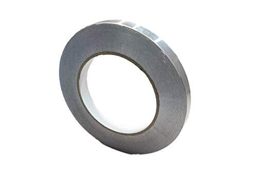 (T.R.U. AF-20R Heat Shield Resistant Aluminum Foil Tape: 1/2 in. wide x 50 yds.)