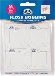 (Bulk Buy: DMC Cardboard Floss Bobbins 56/Pkg 6101 (6-Pack))