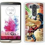 Price comparison product image LG G3 Phone Case, Wonder Woman White LG G3 Screen Cover Case, Beautiful Case