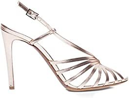 Tabitha Simmons 'Jazz' Sandal w/Twisted Front Straps, 100MM Heel