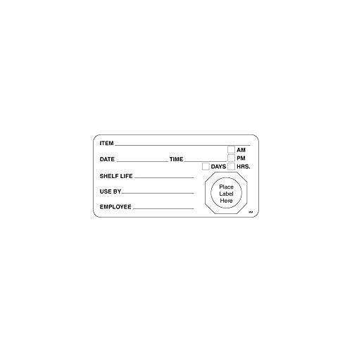 DayMark 110002 MoveMark 4 x 2 Use By / Shelf Life Label - 500 / RL by DayMark Safety Systems