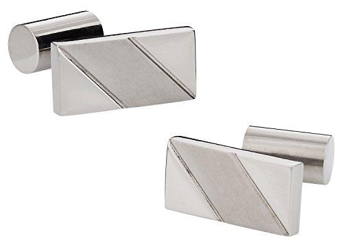 Cuff-Daddy Contemporary Titanium Cufflinks ()