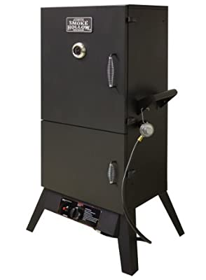 Smoke Hollow 38202G 38-Inch 2-Door Propane Gas Smoker from Outdoor Leisure Products, Inc