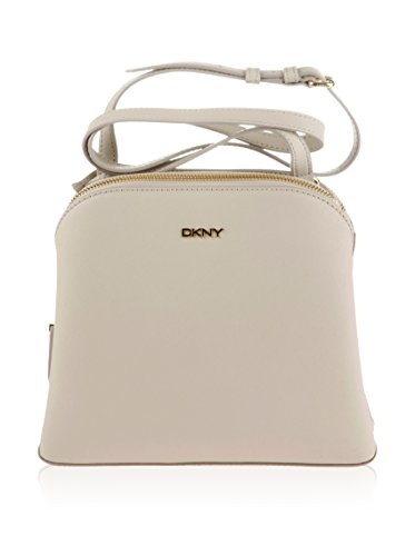 DKNY Borsa a tracolla donna beige ecru