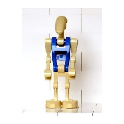 LEGO Star Wars Mini Figure Battle Droid Pilot with Blue Torso (Clone Wars): Toys & Games