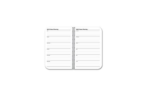 BookFactory 2018-2019 Weekly Academic Calendar (2 Pages per Week - 126 Pages - 3.5'' X 5.5'')/2018 Weekly Planner/Weekly Organizer [Wire-O Bound] (ACAD-152-M3CW-A(WEEKLY-CAL2018-19)) by BookFactory (Image #7)