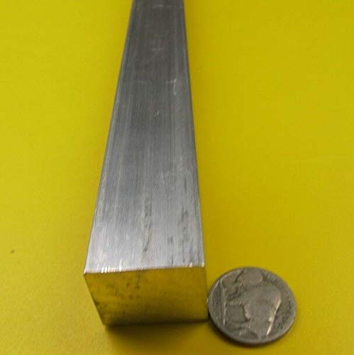 - JumpingBolt 6063 T5 Aluminum Bar, 7/8'' (.875'') Thick x 1.0'' Wide x 48'' Length Material May Have Surface Scratches