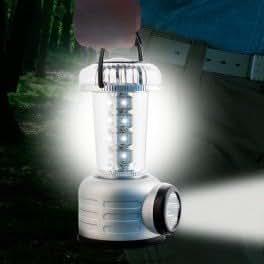 Lámpara de Camping con Brújula (24 LED)