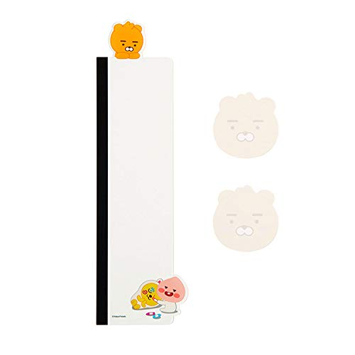 KAKAO FRIENDS Official- Acrylic Computer Monitor Memo Board with Sticky Notes 40 Sheets (Right Side)