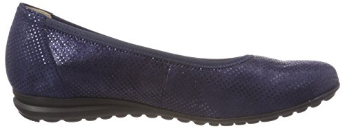 cheap reliable Gabor Women's Comfort Sport-Modern Closed Toe Ballet Flats Blau (Nightblue 26) fake cheap online sale for cheap free shipping best store to get YKNtEj