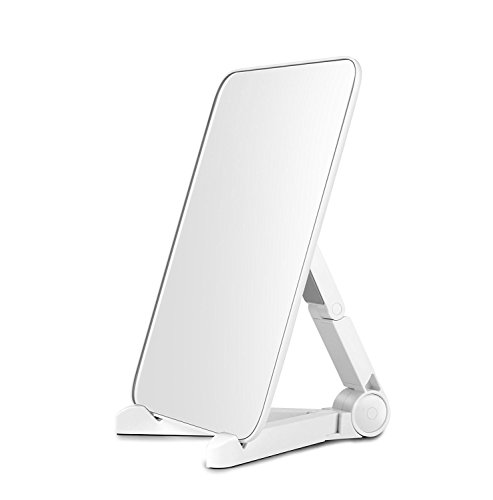 UNDERBRIDGES Travel Mirror Beauty Desktop Cosmetics Personal Beauty Mirror 9.67.480.24 inches (Model Bridge Position)