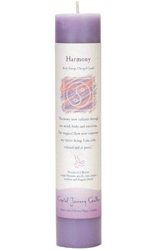 Crystal Journey Herbal Magic Reiki Charged Candle~ Harmony 7