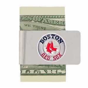 Siskiyou MLB Boston Red Sox Steel Money Clip