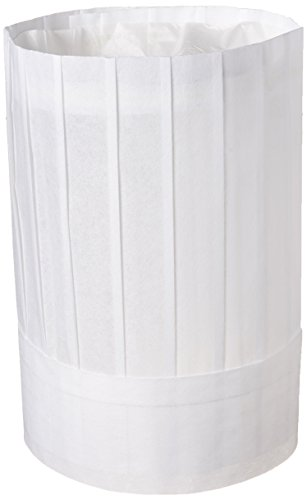 New Star Foodservice 32253 Disposable Non Woven Flat Chef...