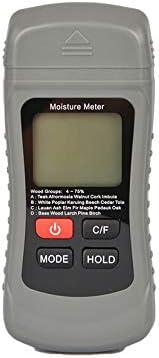 Misuratore di umidit/à digitale digitale rilevatore di umidit/à tester rivelatore umidit/à misurazione umidit/à per legna da ardere cartone carta pavimento