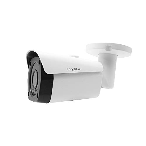 LongPlus 4K 8MP CCTV Security Surveillance H.265 Poe, Sony Sensor, 3864x2218, Ip66 Weatherproof, White (LPIPC8MBM)