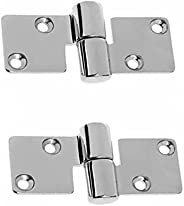 BOOHAO 2 pcs Marine Lift Off Hinges Stainless Steel Take-Apart Hinges for Boat Yacht Doors, Motor Box, Windows
