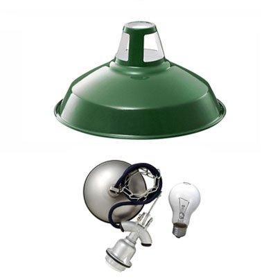 アートワークスタジオ/フィッシャーマンズペンダント (M) (グリーン) 【LED電球付】 SS-8037E-GN B07PGY8W9H グリーン