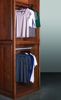 Motorized Wardrobe Lift, For Inside Closet Width Of 33u0026quot;   48u0026quot;, 60