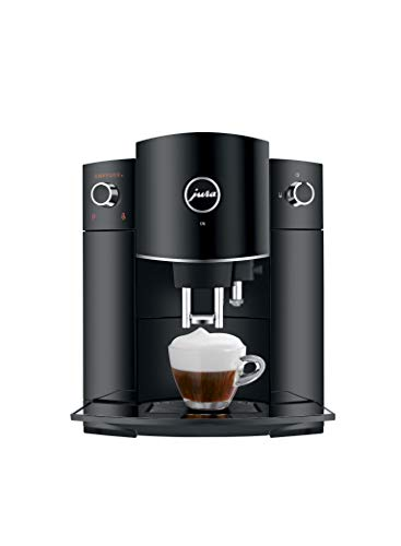 Jura 15215 D6 Automatic Coffee Machine, 1, Black