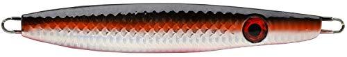 P-Line Sassin' Jig 1 Ounce Spoon-Style Jig Cod, Tuna, Striper Fishing Lure (SJ-54-Silver Black Orange)