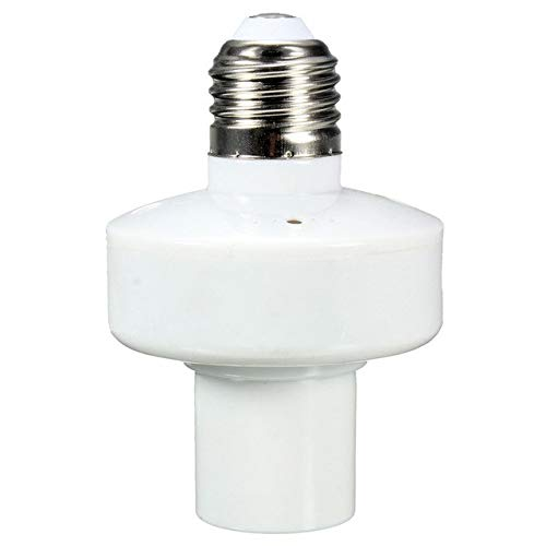 Wholesale Screw Wireless Remote Control Light Lamp Bulb Holder Cap Socket Switch New On Off