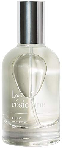 By Rosie Jane Tilly Eau de Parfum Spray - Coconut, Grapefruit, Gardenia Sustainably Sourced Fragrance for Women + Men (1.7 Ounces, 50 Milliliters)