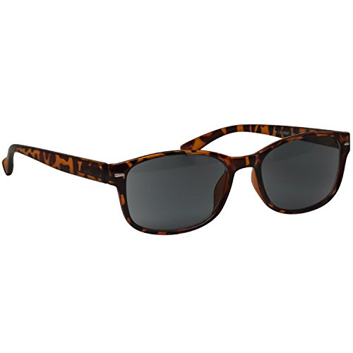 Tortoise Reading SunGlasses _ Always Have a Timeless Look, Crystal Clear Vision, Comfort Fit With Sure-Flex Spring Hinge Arms & Dura-Tight Screws _ 100% Guarantee - Deal Sunglasses Online