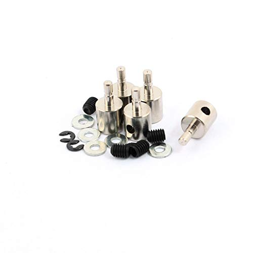 Spring Linkage Clamp - uxcell 5 Pcs 3x2x11mm Size Linkage Stoppers PRC Push Rod Keepers w Screws